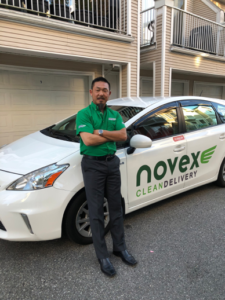 Novex Delivery Driver with Car