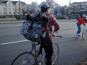 Novex Delivery Man on Bike