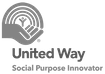 United Way Social purpose innovator logo